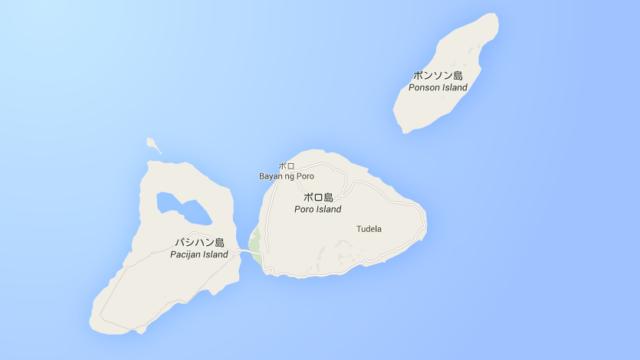 カモテス諸島の位置③
