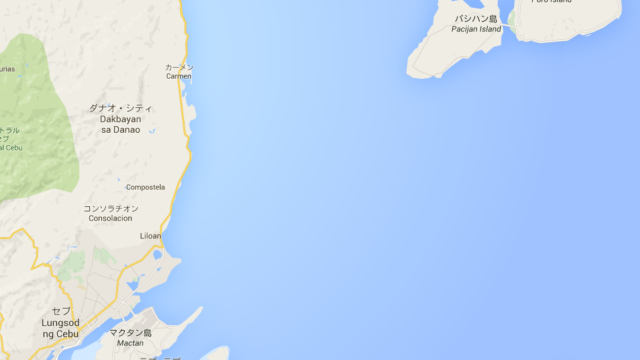 カモテス諸島の位置②