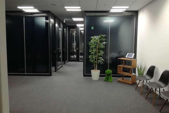 レバテック株式会社大阪オフィス風景