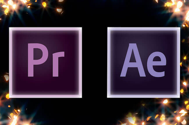 premeire pro and after effects