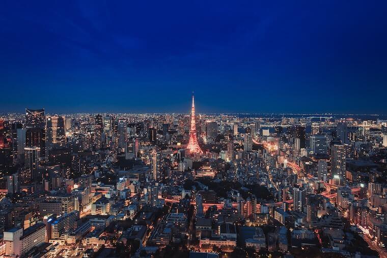 眠らない街・東京