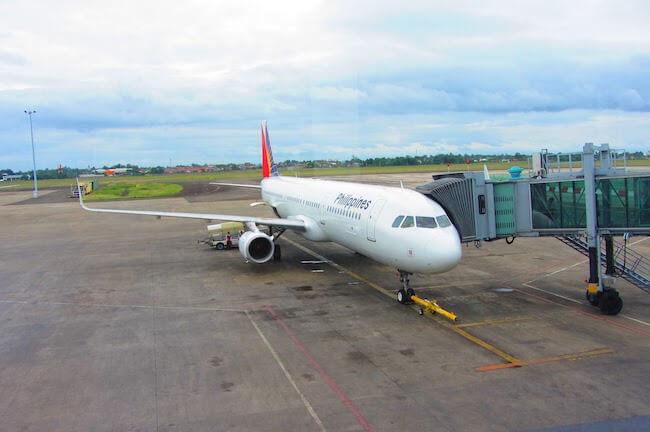 フィリピン航空のジェット機