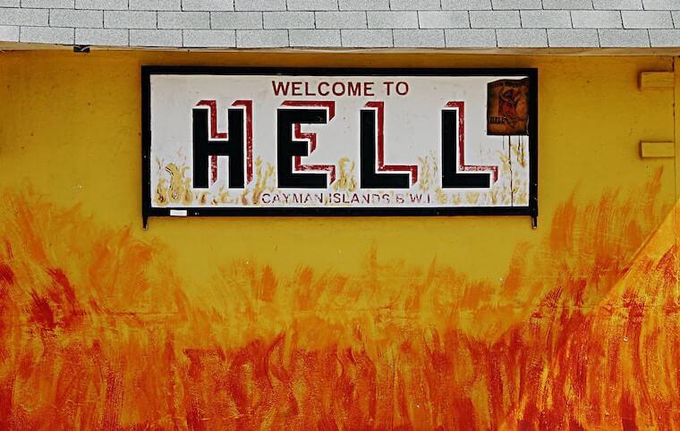 地獄へようこそ!